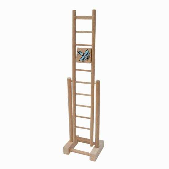 Dřevěné hračky - Dřevěný žebřík letadélko