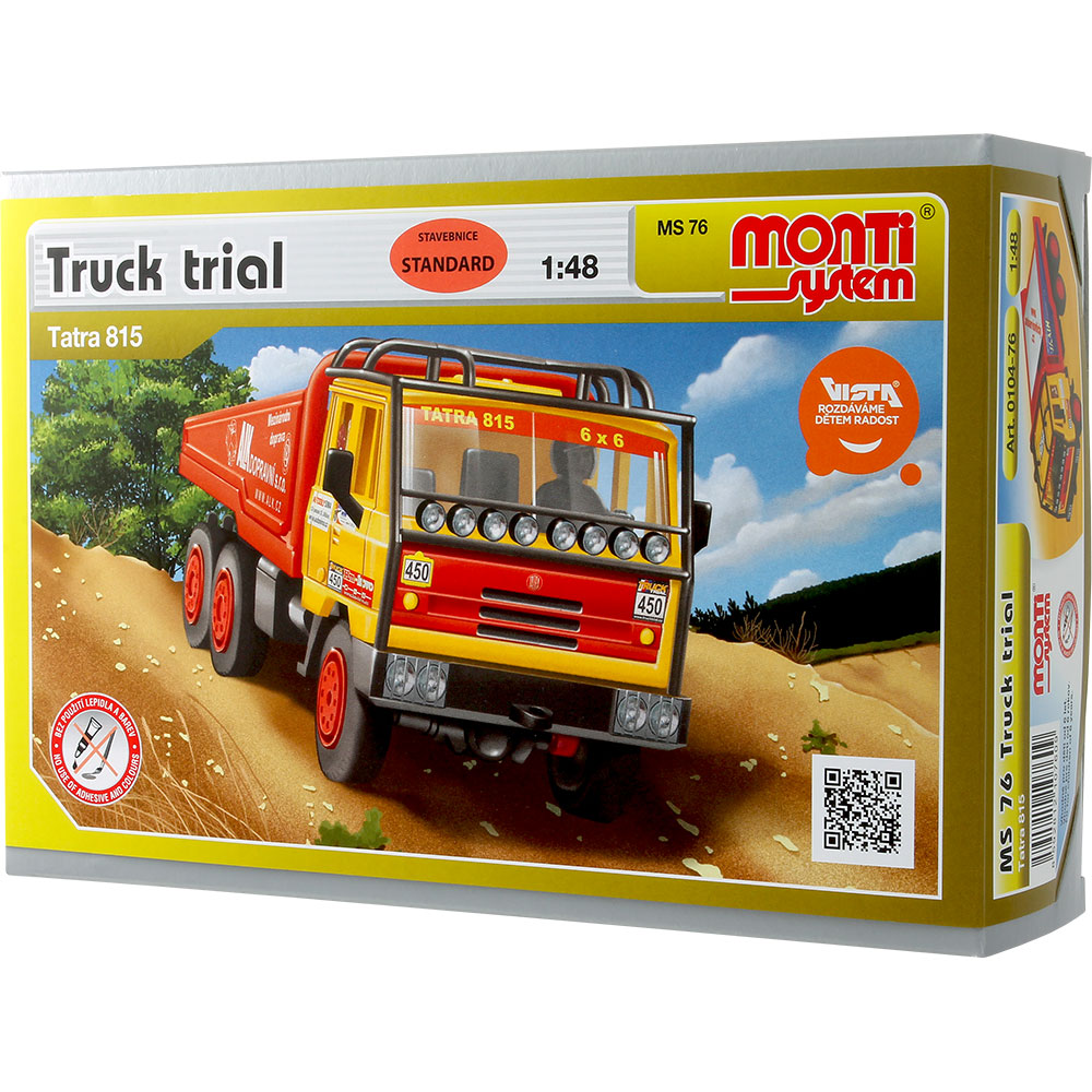 Monti System - MS76 - Truck trial