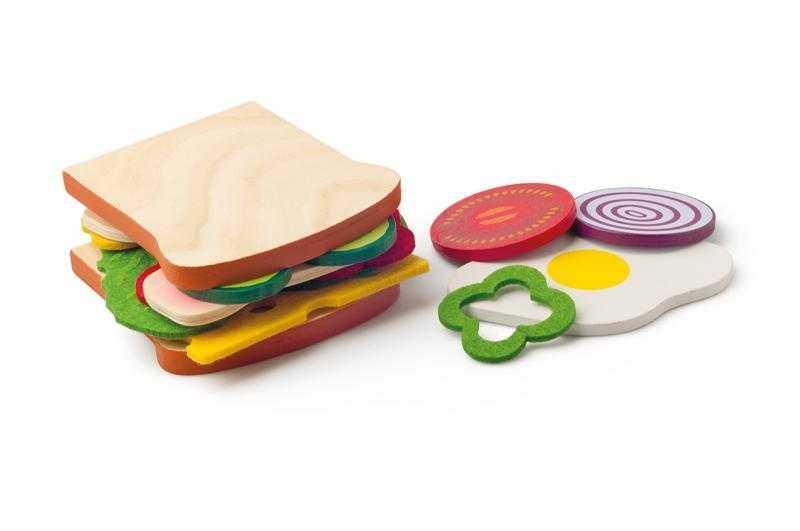 Dřevěné hračky Woody - Připrav si svůj sendvič