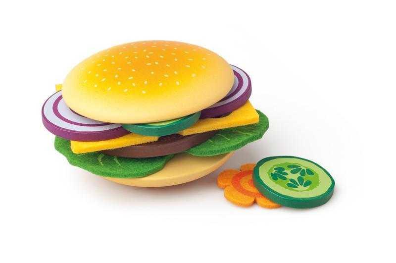 Dřevěné hračky Woody - Připrav si svůj hamburger