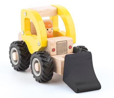 Dřevěné autíčko – Bagr