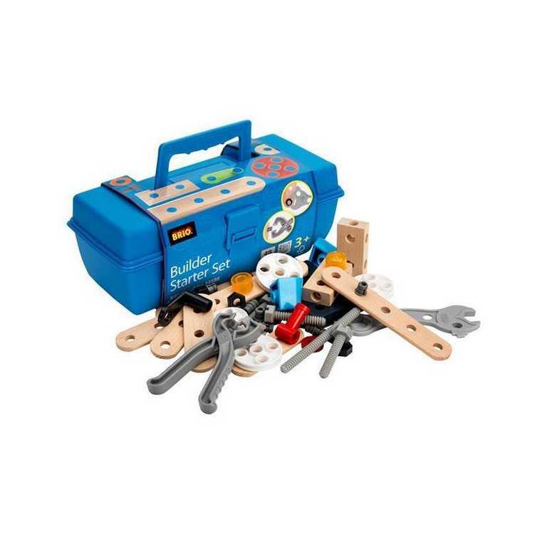 Brio Builder štartovací set v kufríku 48 ks