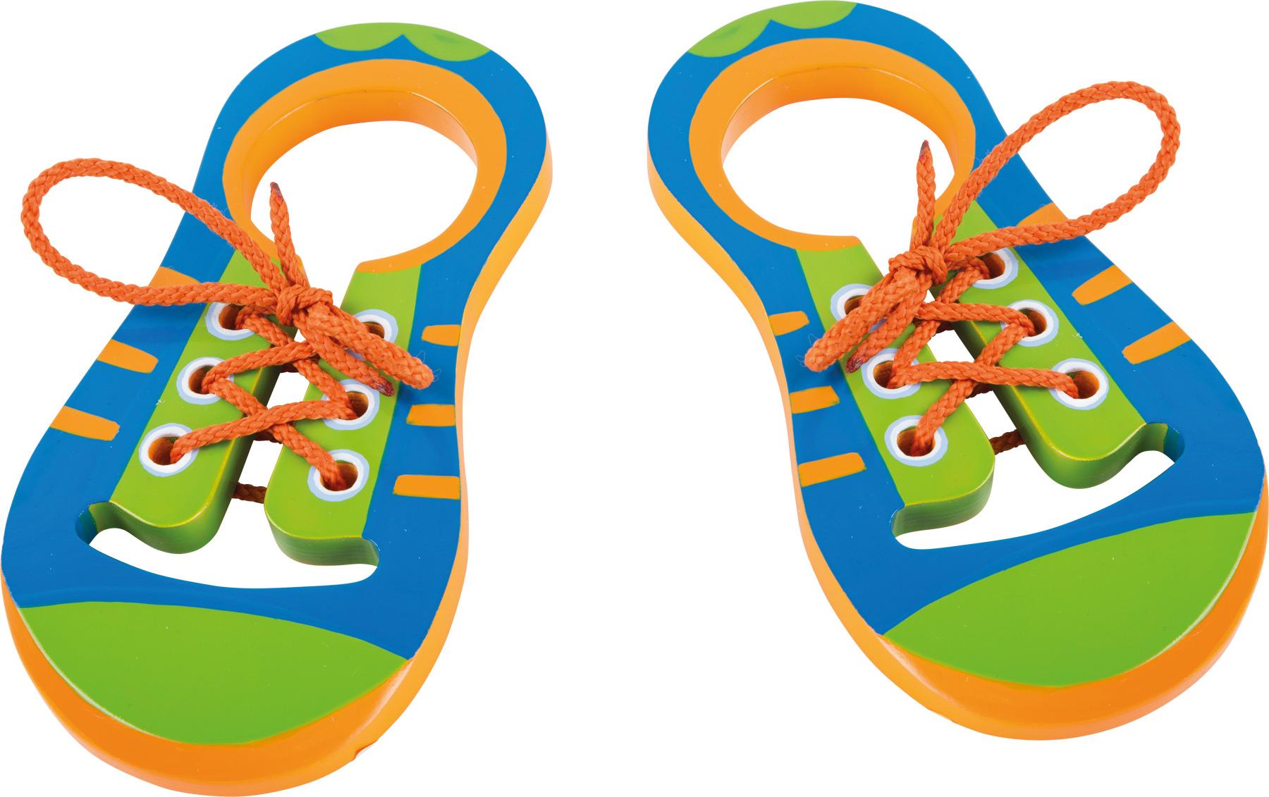 Small Foot Zaviaž si topánočky