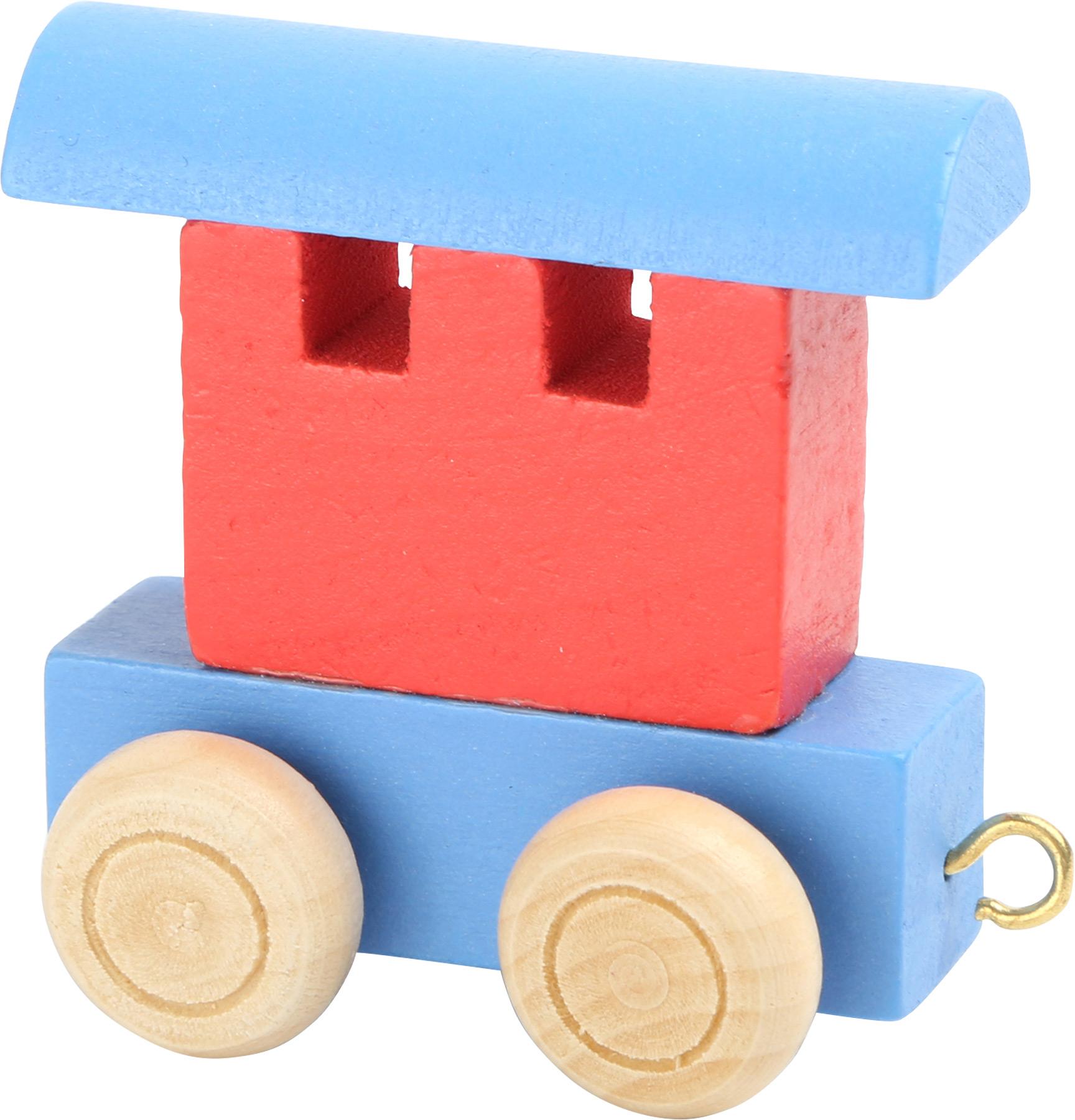 Small Foot Vláčik abeceda - Farebný vagónik