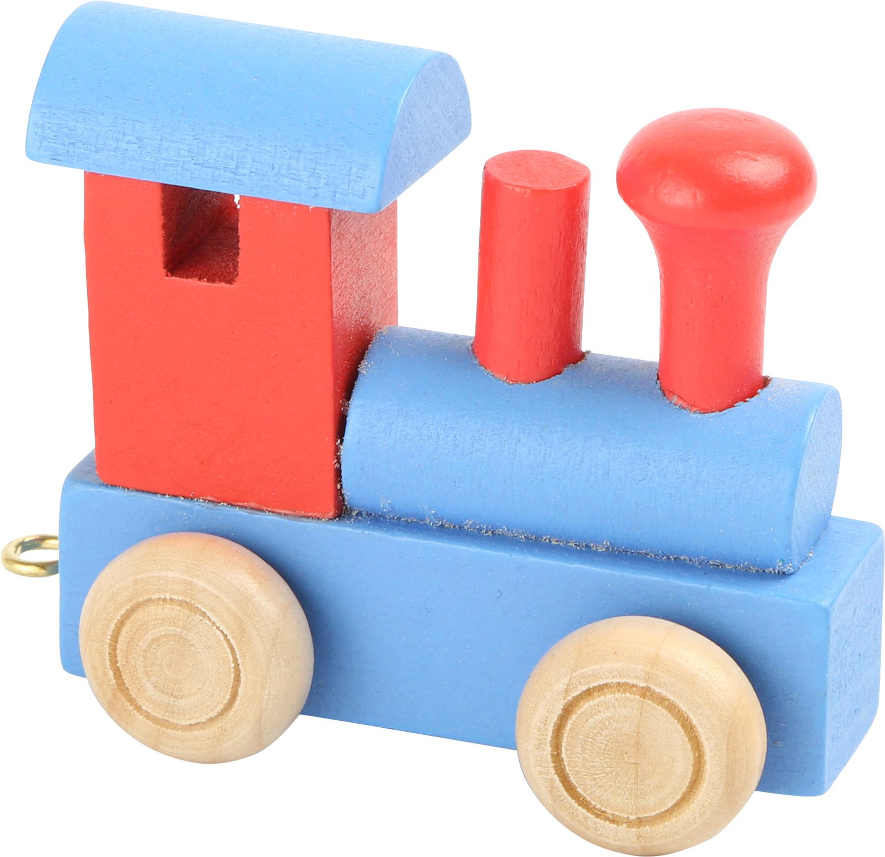 Small Foot Vláčik abeceda - Farebná lokomotíva