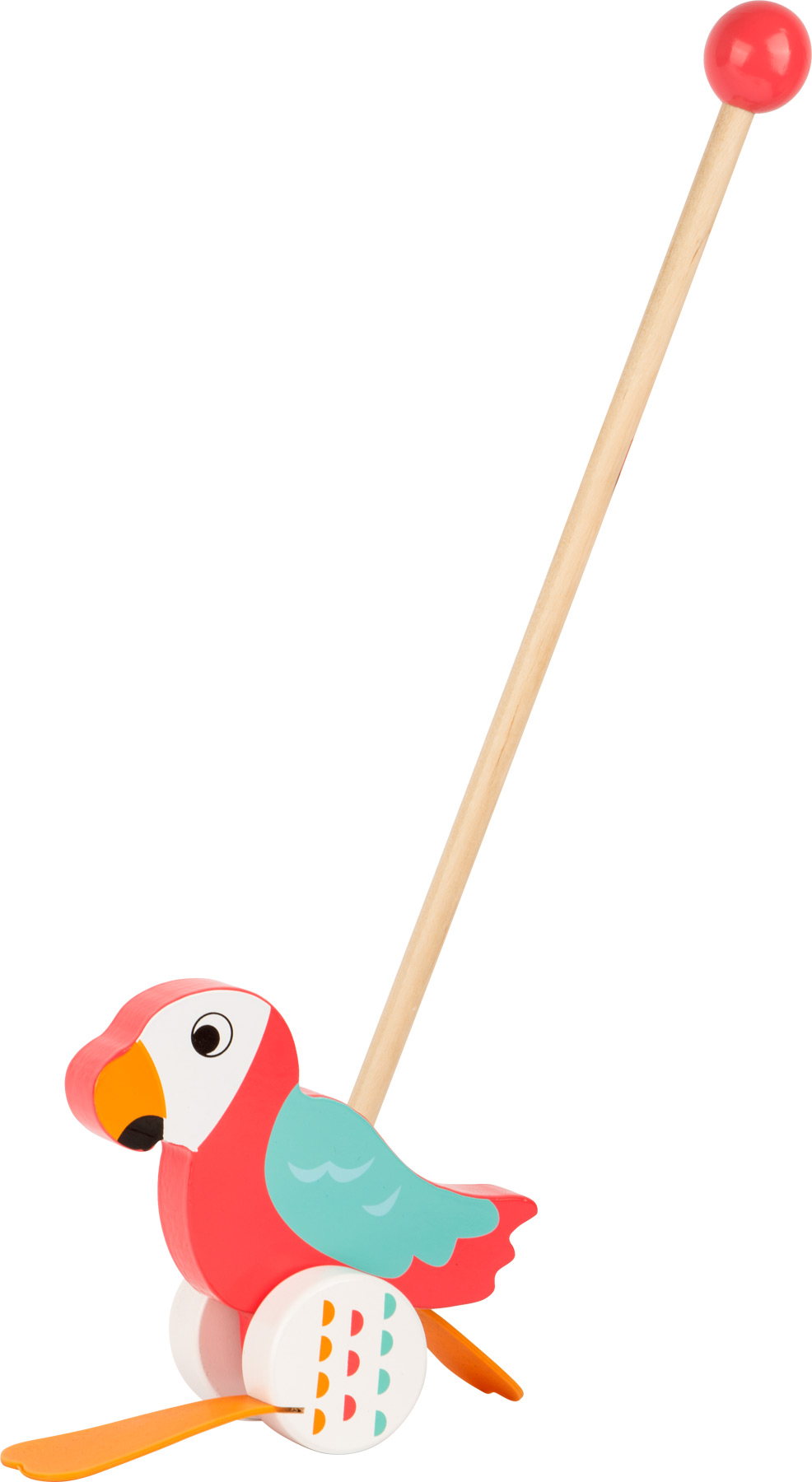 Small Foot strkadlo papagáj Lori