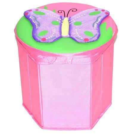 Box na hračky 30 cm - motýl