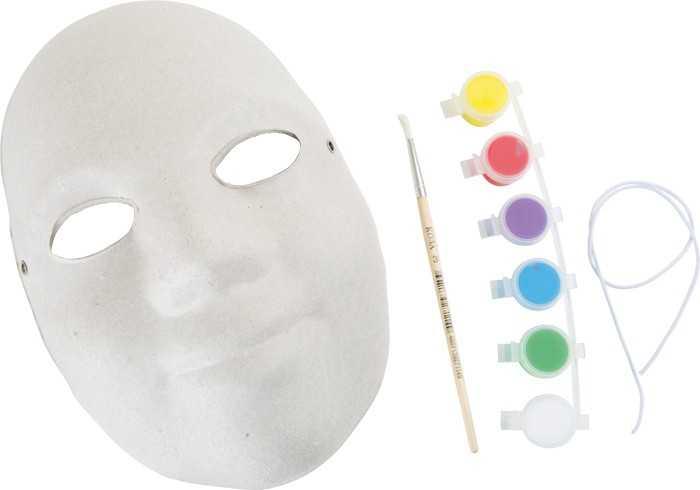Small Foot Kreatívna sada - Maska k vymaľovaniu