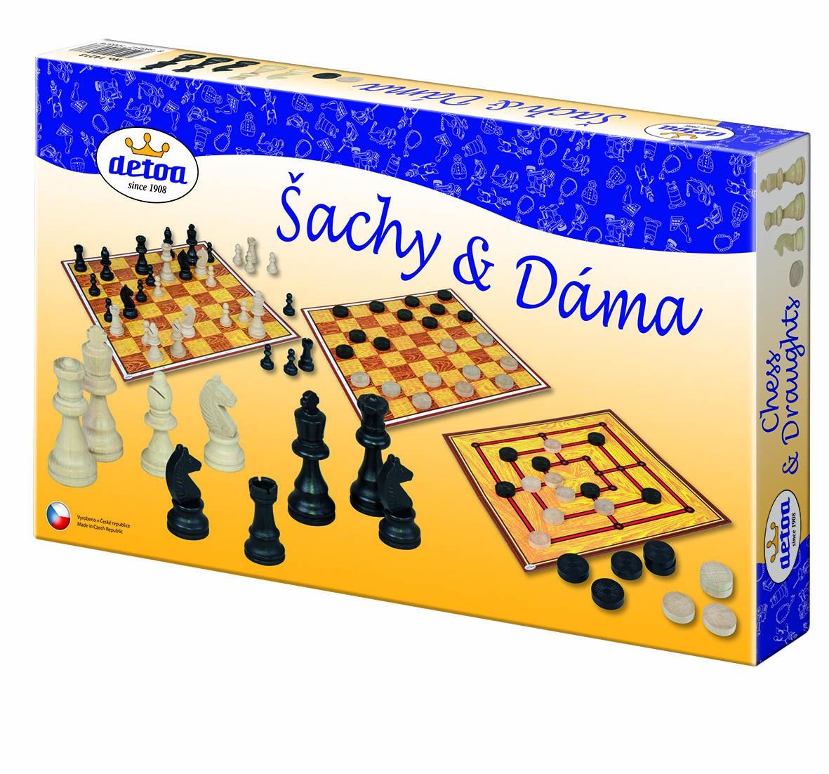Detoa Šachy a dáma