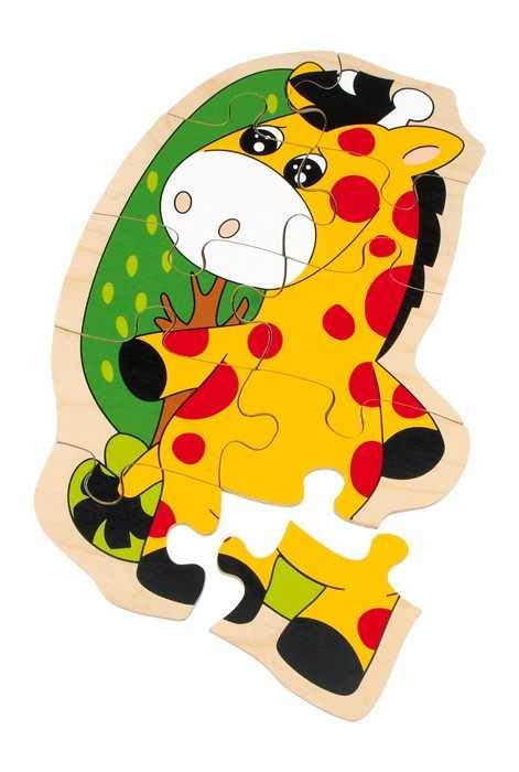 Small Foot Puzzle Žirafa