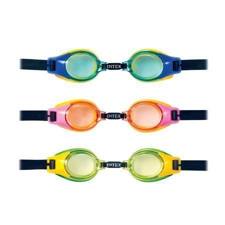 INTEX Plavecké brýle Junior 55601 žlutá