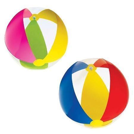 INTEX Nafukovací míč PARADISE 59032 modrá, červená, žlutá