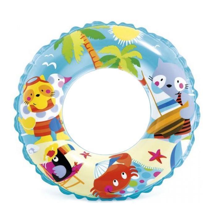 INTEX Dětský kruh TRANSPARENT 59242