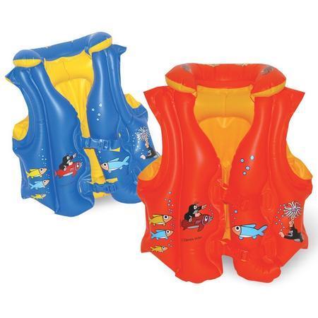 Plavací vesta Krtek červená