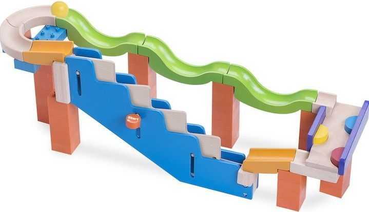 Dřevěná kuličková dráha TRIX - Schodiště