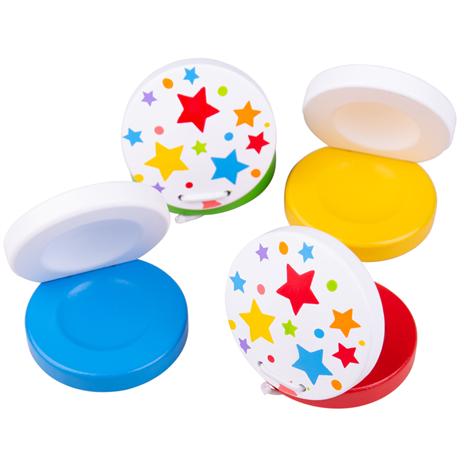Bigjigs Toys Kaskanety hviezdičky