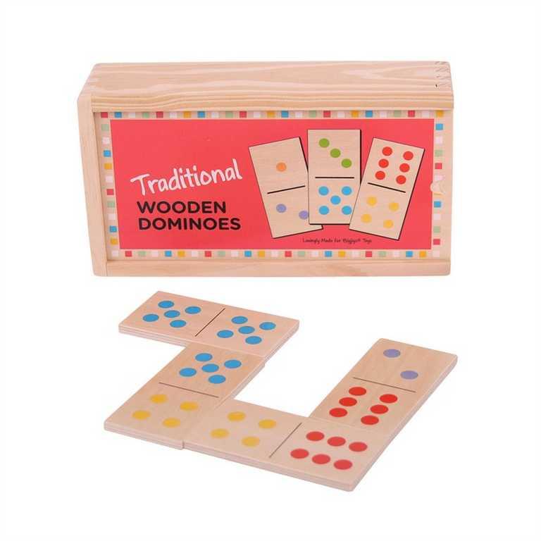 Bigjigs - dřevěné domino klasické
