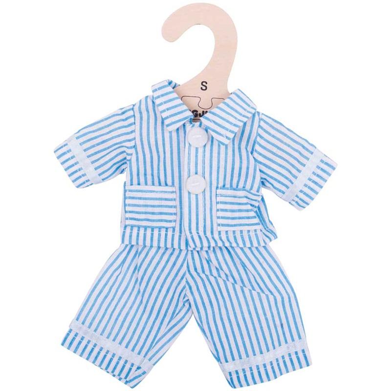Bigjigs Toys modré pyžamo pro panenku 25 cm