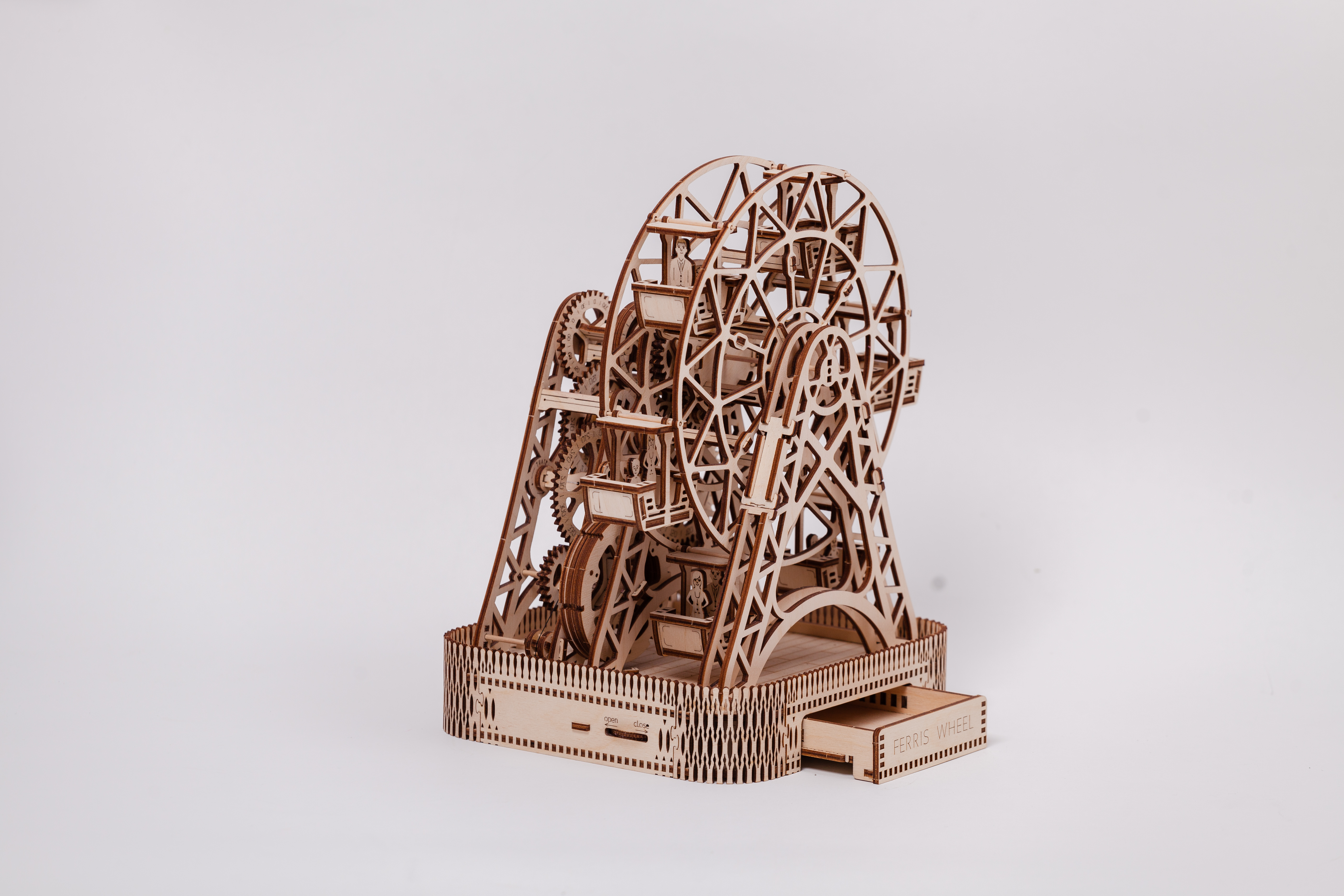 Wooden City 3D mechanické puzzle - Ruské koleso