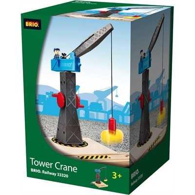 Věž s jeřábem a panáčkem