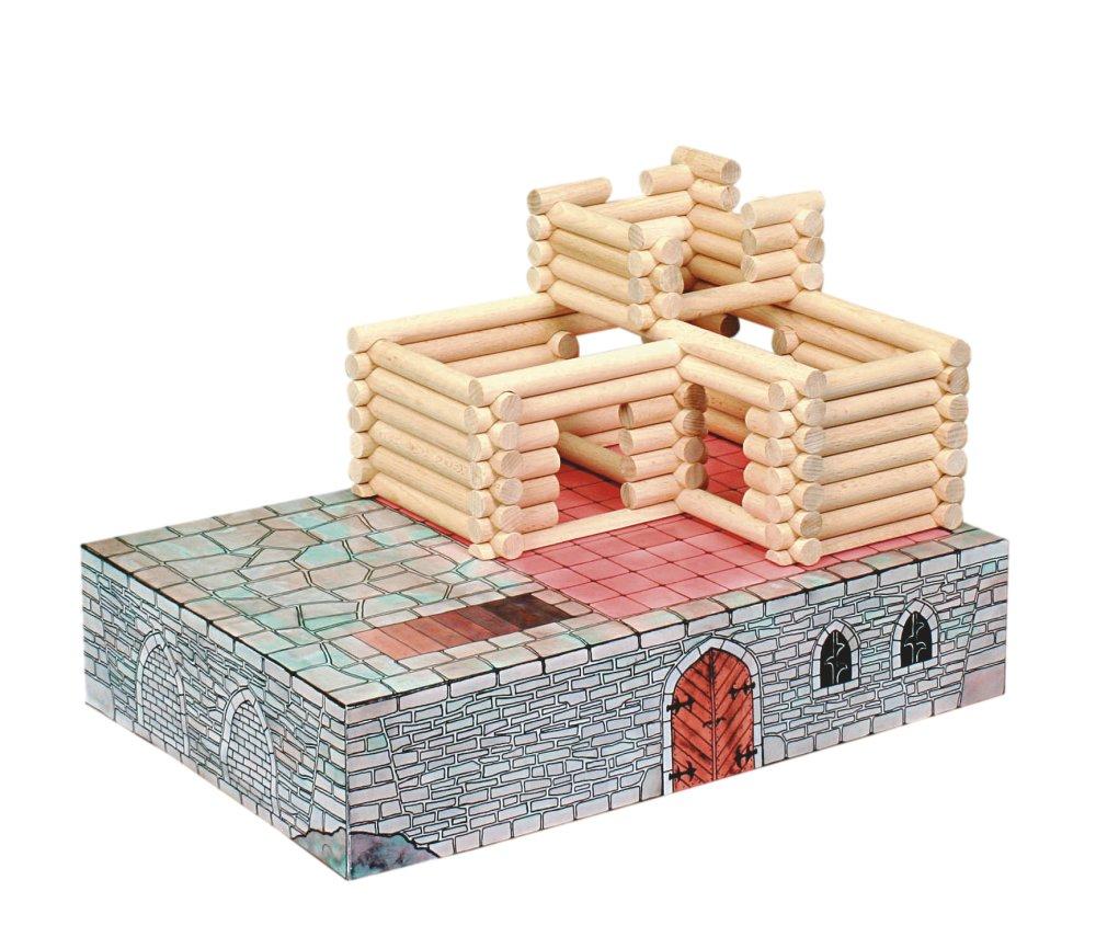 Walachia Drevená stavebnica Vario Fort 194 dielov