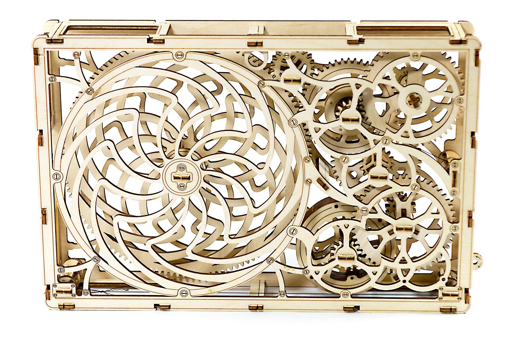 Wooden City 3D mechanické puzzle - Kinetický obraz