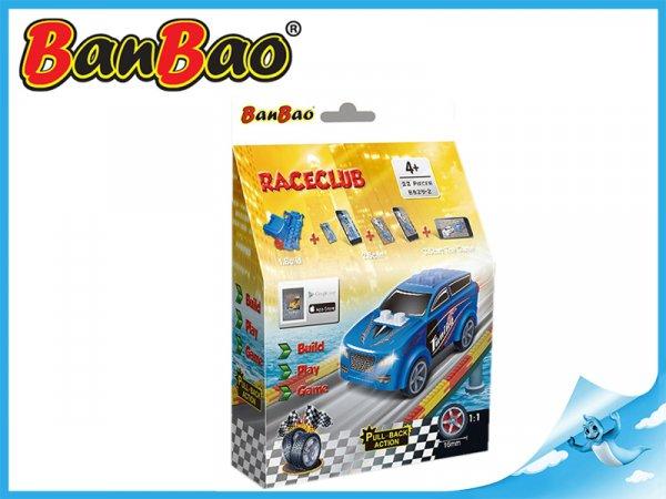 BanBao stavebnice - RaceClub - závodní auto Saturn