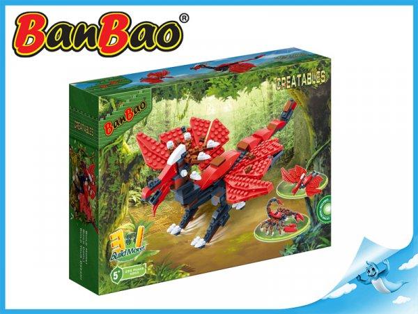 BanBao stavebnice - Creatables - postav si zvíře 3v1 pták 295ks