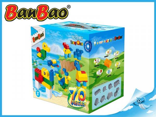 BanBao Kostky velké 70ks