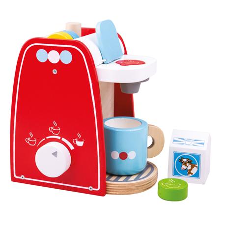 Bigjigs Toys Drevený kávovar
