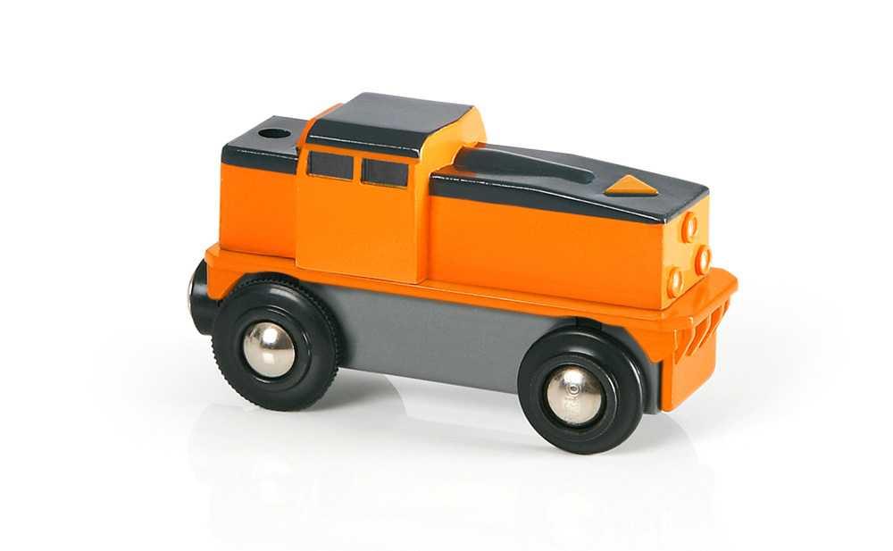 Vláček vláčkodráhy - Elektrická nákladní lokomotiva