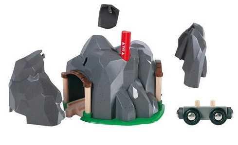 Vláčkodráhy Brio - Tunel s rozbuškou