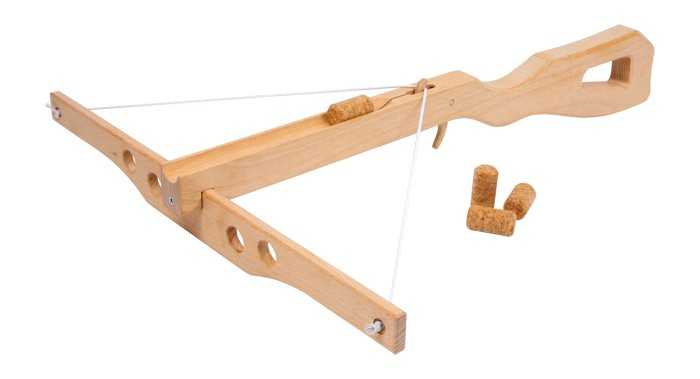 Small Foot hračky pre chlapcov - Korková kuša