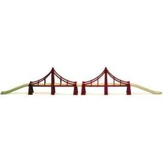 Vláčkodráhy Brio - Most velký San Francisko
