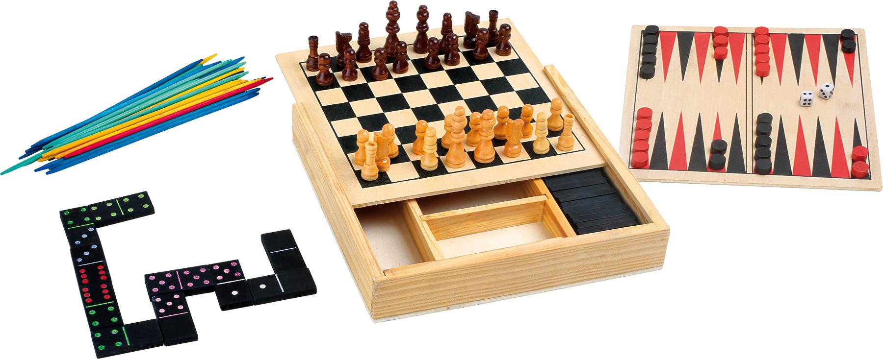 Small Foot Klasické hry 4v1