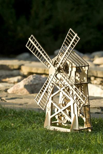 Wood Trick 3D mechanické puzzle - Mlyn