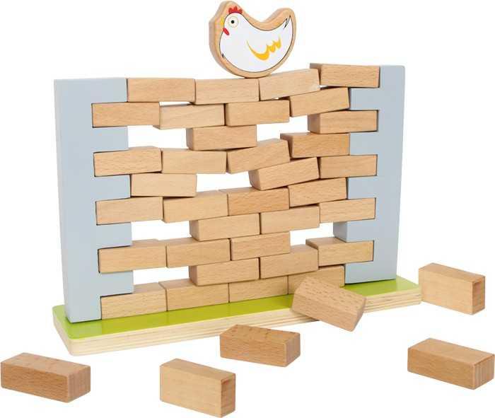 Small Foot Drevená motorická hra - Balančný múr