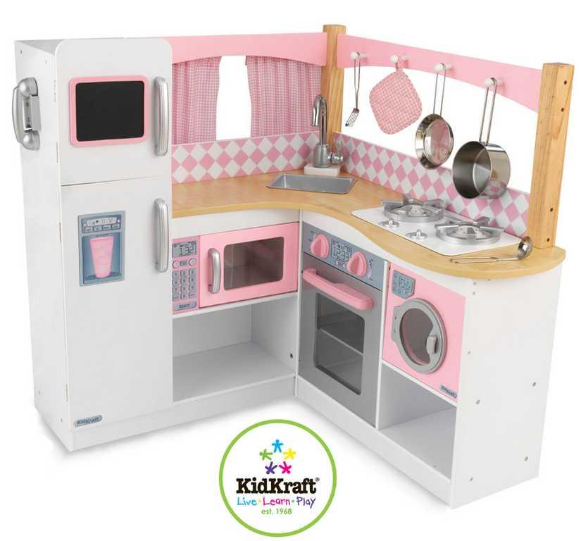 Dřevěné hračky - KidKraft Kuchyňka grand gourmet