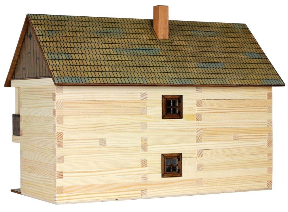 Walachia Drevená zlepovacia stavebnica Správcov dom