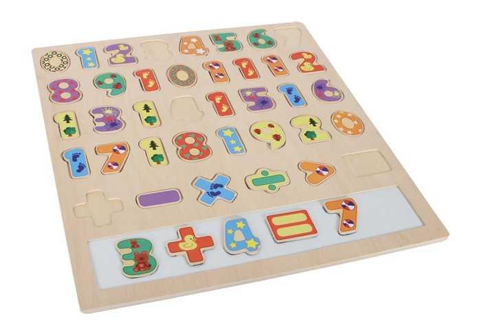Small Foot Veľké puzzle Počítanie