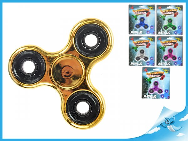 Extreme Spinner metalický