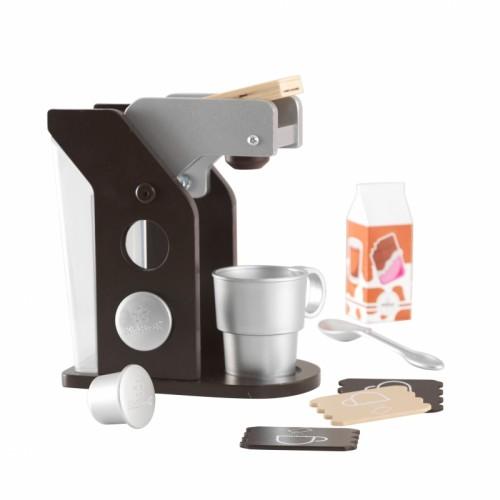 Kidkraft kávovar Espresso hnědý