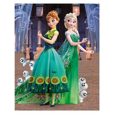 Dřevěné kostky - Frozen 20 ks