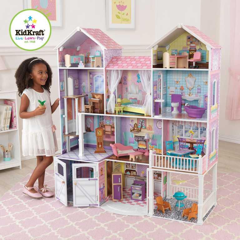 KidKraft Domček pre bábiky vidiecke panstvo