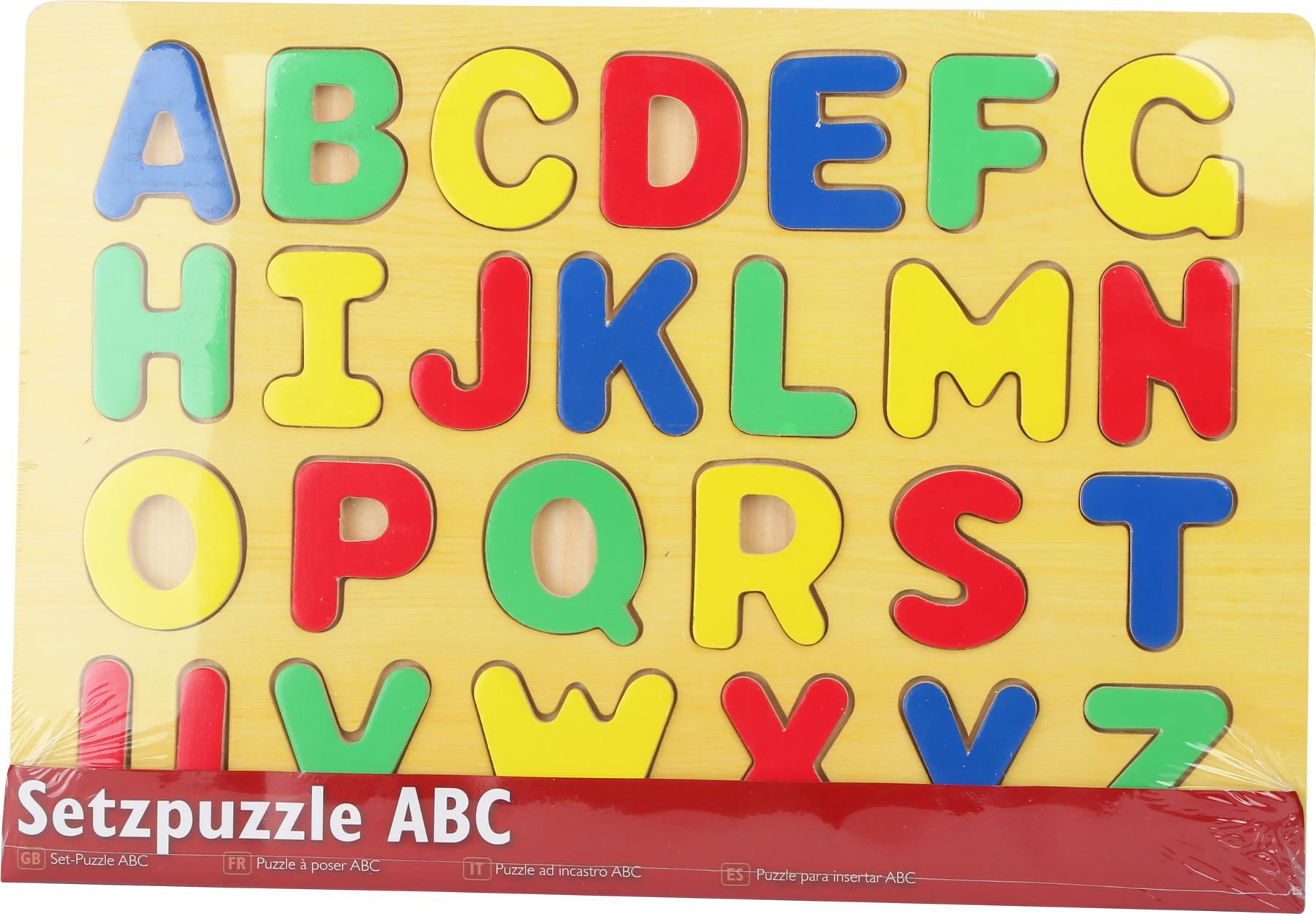 Small Foot Vkladacie puzzle abeceda