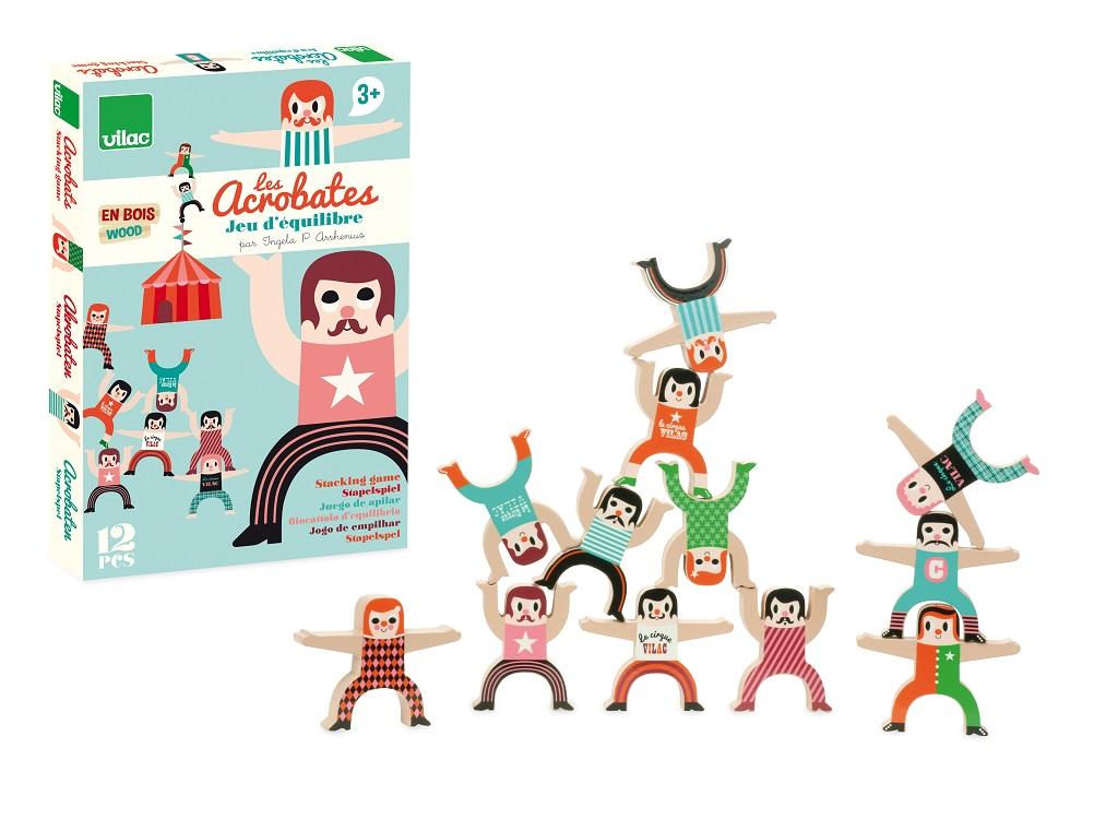Vilac Drevené postavičky akrobati