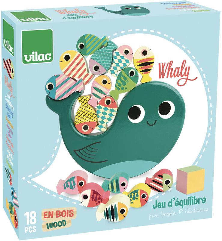 Vilac Motorická balančná hra Veľryba