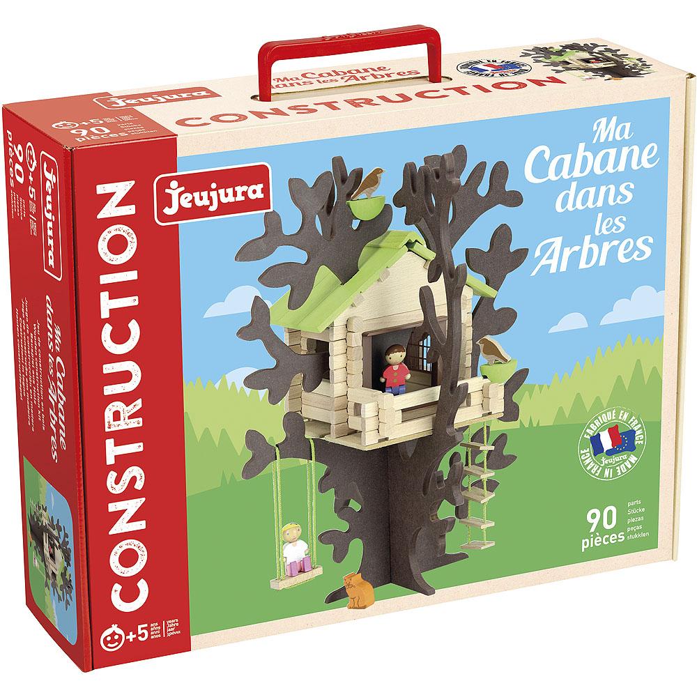Jeujura Drevená stavebnica  dom na strome