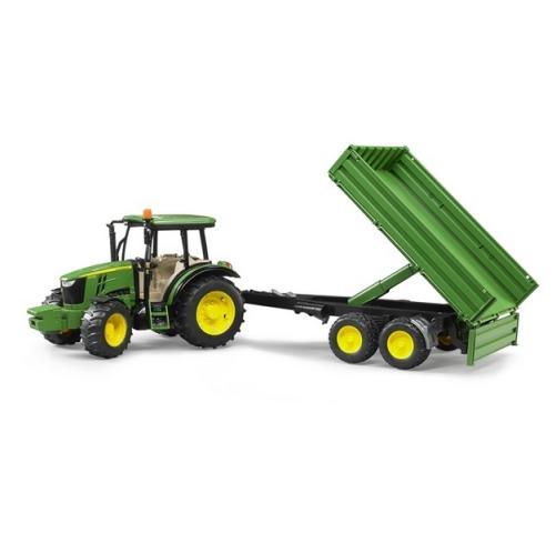 Bruder - Traktor John Deere s valníkem