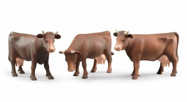 Bruder - Figurka kráva - hnědá